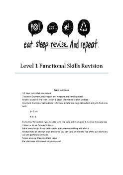 Functional Skills Maths Revision Level 1