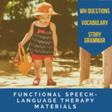 Functional Speech-Language Therapy Materials