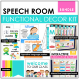 Functional Speech Room Decor Bundle