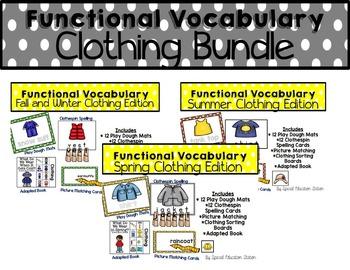 Functional Spelling: CLOTHING Bundle