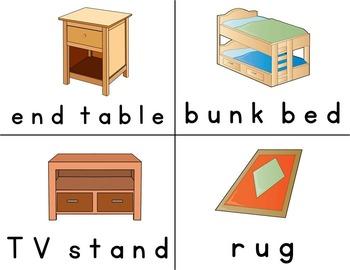 Functional Spelling: FURNITURE