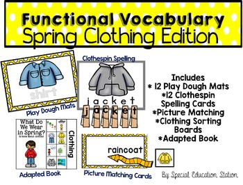 Functional Spelling: SPRING CLOTHES