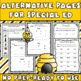 Functional Spelling: Special Education Modified Alternative Pages (Autism)