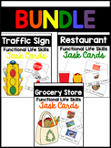 Functional Life Skills Task Card Bundle