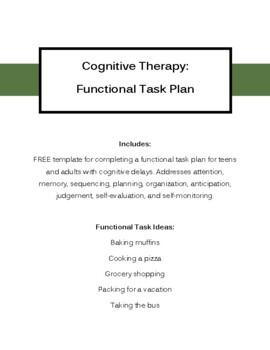 Functional Task Plan