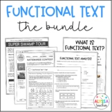Functional Text Bundle | SOL 4.4 and 4.6