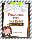 Cold Reads: Functional Text Packet 2