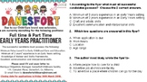 Functional Text FLYERS SOL practice with multiple select questions