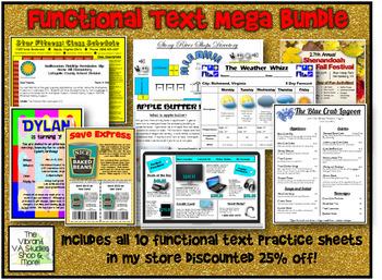 Functional Text Mega Bundle