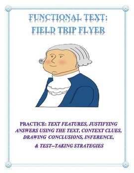 Functional Text: Museum Flyer with Comprehension Questions