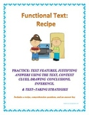 Functional Text: Recipe