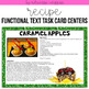 Functional Text Task Card Centers