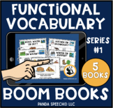 Digital Functional Vocabulary BOOM Books Series #1: Distan