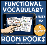 Functional Vocabulary BOOM Books Series #2: Digital Interactive Books 5 in 1