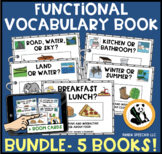 Functional Vocabulary Book Bundle Series One + BOOM Card Version