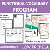 Functional Vocabulary Program