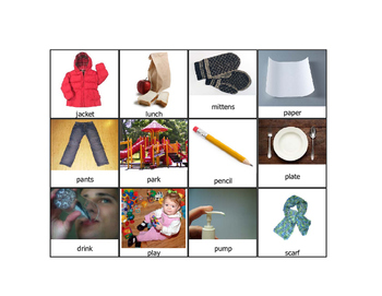 Functional Vocabulary for Children with ASD