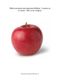 Functional Vocabulary for Special Ed, Autism, Speech -- FOOD SPANISH