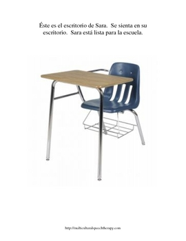 Functional Vocabulary for Special Ed, Autism, Speech, --School SPANISH