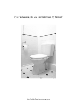 Functional Vocabulary for Special Education, Autism, Speech--BATHROOM