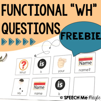 Functional WH Questions