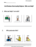 Who Questions : Community Helpers