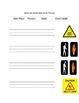 Functional Words- Survival Signs (Set 4- wet floor, poison, walk, don't walk)