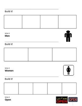 Functional Words Template