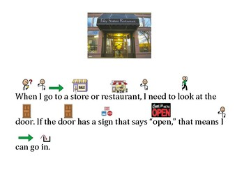 Functional Words and Survival Signs Comprehension Open, Closed, Push, Pull