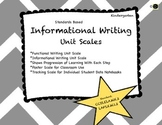 Informational Writing: Kindergarten Learning Scale