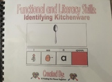Functional and Literacy Skills Book on Identifying Kitchenware