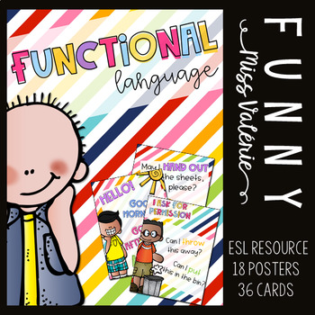 Functional Language - Poster set and cards