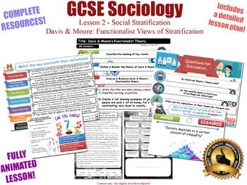 Functionalism & Social Stratification (GCSE Sociology - L2/20) [Davis & Moore]
