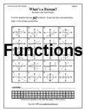 Functions and Relations Worksheets (Bundle)