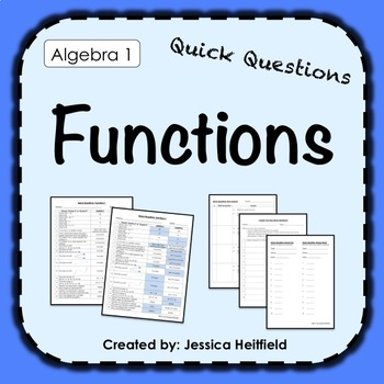 Functions Activity: Fix Common Mistakes!