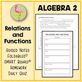 Algebra 2: Relations and Functions