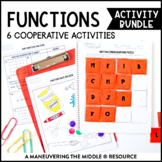 Functions Activity Bundle