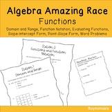 Algebra - Functions Amazing Race