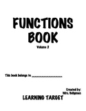 Functions Book Volume 2