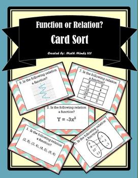Functions Card Sort