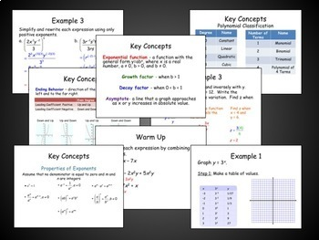 Functions, Equations, and Graphs Unit