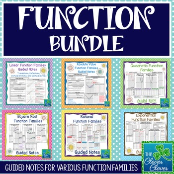 Function Bundle - Guided Notes