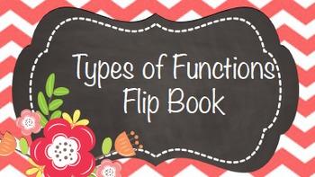 Functions Flip Book