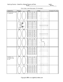 Identifying Functions by Mapping, Tables, Graphs and Ordered Pairs Worksheet
