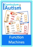 Input Output Function Machines Expressions Autism Special Education