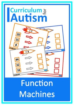 Pre algebra math for special ed teaching resources teachers pay input output function machines expressions autism special education fandeluxe Gallery