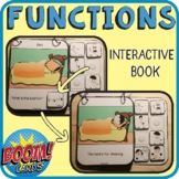 Object Functions Interactive Book + Boom Cards!