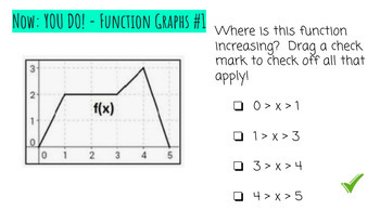 Functions Interactive Google Slides