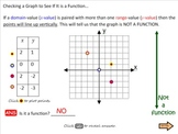 Functions Lessons 1 - 3 (Bundled)