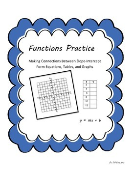 Functions: Making Connections Between Representations